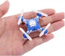 FQ FQ777 Micro MINI Drón Drone Quadkopter Quadcopter 3D szaltó  6tengelyes giroszkóp headless mode return to home