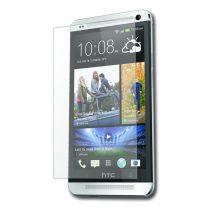 HTC One Mini M7  kijelzővédő fólia képernyővédő kristálytiszta kijelző védő védőfólia