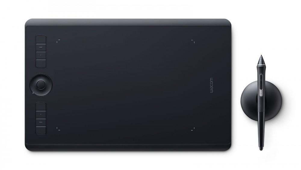 Wacom Intuos Pro M Medium 2017 Fekete Pen & Touch rajztábla digitális tábla digitalizáló tábla / PTH-660-N /