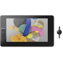 Wacom Cintiq Pro 24 Fekete Pen & Touch táblamonitor rajztábla digitális tábla digitalizáló tábla / DTH-2420 /