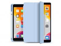 Apple iPad 10.2 (2019/2020) védőtok (Smart Case) on/off funkcióval, Apple Pencil tartóval - blue (ECO csomagolás)