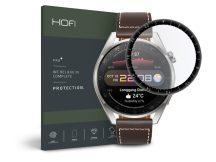 HOFI Hybrid Glass üveg képernyővédő fólia - Huawei Watch 3 Pro (48 mm) - black