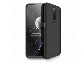 Xiaomi Poco X2 hátlap - GKK 360 Full Protection 3in1 - fekete