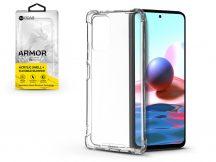 Xiaomi Redmi Note 10/Note 10S szilikon hátlap - Roar Armor Gel - transparent