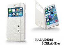 Apple iPhone 6 Plus flipes tok - Kalaideng Iceland 2 Series View Cover - white