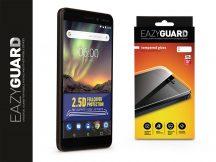 Nokia 6 (2018) gyémántüveg képernyővédő fólia - Diamond Glass 2.5D Fullcover - fekete