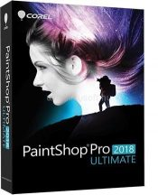 Corel PaintShop Pro 2018 ULTIMATE ML Mini doboz PSP2018ULMLMBEU