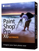 Corel Paint Shop Pro X6 Ultimate (PSPX6ULIEMBEU)
