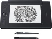 Wacom Intuos Pro M Paper Edition Medium 2017 Fekete Pen & Touch rajztábla digitális tábla digitalizáló tábla / PTH-660P-N /