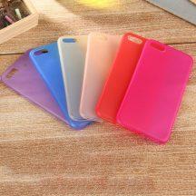 """iPhone 7 Plus és Iphone 8 Plus (5,5"""") vékony matt telefontok szilikontok tok tartó Apple"""