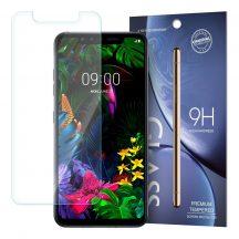 LG G8s ThinQ karcálló edzett üveg Tempered glass kijelzőfólia kijelzővédő fólia kijelző védőfólia