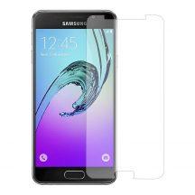 Samsung Galaxy A3 2016 karcálló edzett üveg Tempered Glass kijelzőfólia kijelzővédő fólia kijelző védőfólia eddzett