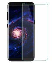 Samsung Galaxy S9 Plus SM-G965 karcálló edzett üveg HAJLÍTOTT TELJES KIJELZŐS Tempered Glass kijelzőfólia kijelzővédő fólia kijelző védőfólia eddzett