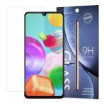 Samsung Galaxy A41 karcálló edzett üveg Tempered Glass kijelzőfólia kijelzővédő fólia kijelző védőfólia eddzett SM-A415