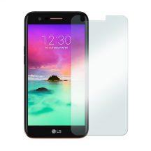 LG K10 2017 karcálló edzett üveg Tempered glass kijelzőfólia kijelzővédő fólia kijelző védőfólia