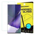 Samsung Galaxy Note 20 SM-N980 karcálló edzett üveg HAJLÍTOTT TELJES KIJELZŐS UV ragasztó Tempered Glass kijelzőfólia kijelzővédő fólia kijelző védőfólia eddzett