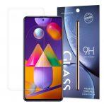 Samsung Galaxy M51 karcálló edzett üveg Tempered Glass kijelzőfólia kijelzővédő fólia kijelző védőfólia eddzett