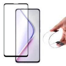 Xiaomi Xiaomi Pocophone F2 Pro / Redmi K30 Pro FEKETE TELJES KÉPERNYŐS HYBRID FULL SCREEN HAJLÍTOTT tempered glass kijelzőfólia kijelzővédő védőfólia karcálló kijelzős