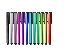 Kapacitív ceruza érintőceruza érintő stylus Iphone ipad galaxy htc android lg htc stilus vegyes színekben