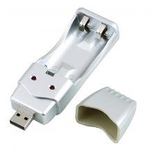 USB akkumulátor töltő AA ceruzaelem AAA mikro micro ceruzaelem