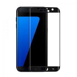 Samsung Galaxy S7 EDGE G935F KARCÁLLÓ EDZETT ÜVEG HAJLÍTOTT TELJES KIJELZŐS Tempered Glass kijelzőfólia kijelzővédő fólia kijelző védőfólia eddzett