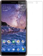 Nokia 7 Plus karcálló edzett üveg Tempered glass kijelzőfólia kijelzővédő fólia kijelző védőfólia