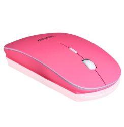 Apple PC Laptop Android Iphone -hoz Vékony vezetéknélküli optikai egér pink rózsaszín -  laptop, notebook , PC számítógép vezeték nélküli