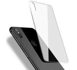 Apple iPhone X XS karcálló edzett üveg HÁTLAP tempered glass kijelzőfólia kijelzővédő védőfólia kijelző