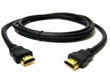 Prémium minőségű aranyozott HDMI KÁBEL 2.0 FULL HD 4K 60fps ARC hd ready 3D 1év garancia számlával 3 méter 3m
