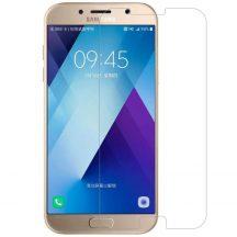 Samsung Galaxy A7 2017 karcálló edzett üveg Tempered Glass kijelzőfólia kijelzővédő fólia kijelző védőfólia eddzett