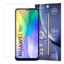 Huawei Y6P / Honor 9A karcálló edzett üveg Tempered glass kijelzőfólia kijelzővédő fólia kijelző védőfólia