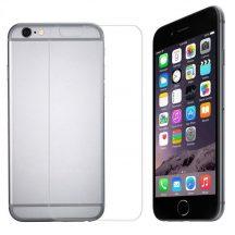 Apple iPhone 7 PLUS 7S PLUS karcálló edzett üveg Hátlap tempered glass kijelzőfólia kijelzővédő védőfólia kijelző