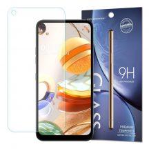 LG K61 karcálló edzett üveg Tempered glass kijelzőfólia kijelzővédő fólia kijelző védőfólia