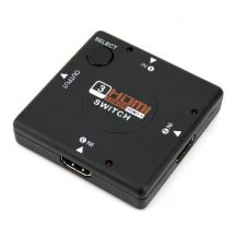 HDMI elosztó hub 1080P 4K 2K 1.4 2.0 splitter switch