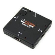 HDMI elosztó hub 1080P 4K 1.4 2.0 full hd splitter switch