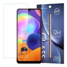 Samsung Galaxy A31 karcálló edzett üveg Tempered Glass kijelzőfólia kijelzővédő fólia kijelző védőfólia eddzett SM-A315