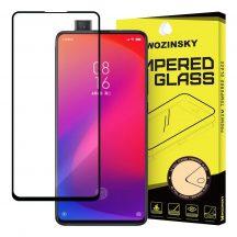 Xiaomi Mi 9T / 9T Pro / K20 / K20 Pro edzett üveg FEKETE TELJES KÉPERNYŐS FULL SCREEN HAJLÍTOTT tempered glass kijelzőfólia kijelzővédő védőfólia karcálló kijelzős