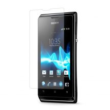 Sony Xperia E kijelzővédő fólia képernyővédő kijelző védő védőfólia C1504/C1505