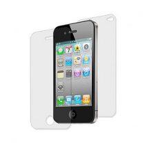 Apple Iphone 4 4S kijelzővédő és hátlap fólia védőfólia kijelzővédő