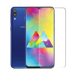 Samsung Galaxy M20 karcálló edzett üveg Tempered Glass kijelzőfólia kijelzővédő fólia kijelző védőfólia eddzett SM-A515
