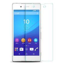 Sony Xperia M5 karcálló edzett üveg Tempered glass kijelzőfólia kijelzővédő fólia kijelző védőfólia