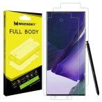 SAMSUNG GALAXY Note 20 Ultra teljes képernyős kijelzővédő fólia képernyővédő védőfólia screen protector SM-N986