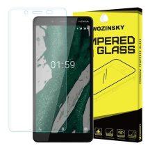 Nokia 1 Plus + karcálló edzett üveg Tempered glass kijelzőfólia kijelzővédő fólia kijelző védőfólia