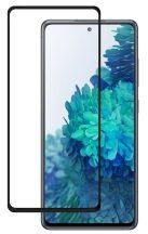 Samsung Galaxy S20 FE SM-G781 karcálló edzett üveg TELJES KIJELZŐS Tempered Glass kijelzőfólia kijelzővédő fólia kijelző védőfólia eddzett