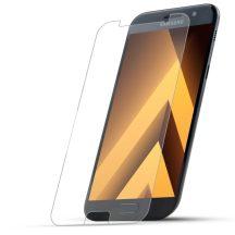 Samsung Galaxy A3 2017 karcálló edzett üveg Tempered Glass kijelzőfólia kijelzővédő fólia kijelző védőfólia eddzett