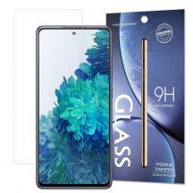 Samsung Galaxy A52 és A52s (5G és 4G is) karcálló edzett üveg Tempered Glass kijelzőfólia kijelzővédő fólia kijelző védőfólia eddzett SM-A526