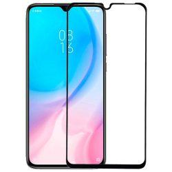Xiaomi Mi 9 Lite / CC9 edzett üveg FEKETE TELJES KÉPERNYŐS FULL SCREEN HAJLÍTOTT tempered glass kijelzőfólia kijelzővédő védőfólia karcálló kijelzős