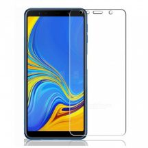 Samsung Galaxy A7 2018 karcálló edzett üveg Tempered Glass kijelzőfólia kijelzővédő fólia kijelző védőfólia eddzett A750F