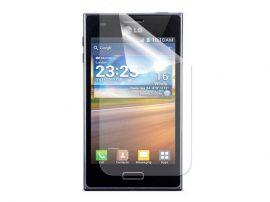 LG Optimus L7 kijelzővédő fólia képernyővédő kijelző védő védőfólia P710
