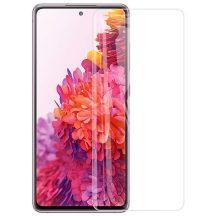 Samsung Galaxy S20 FE SM-G781 karcálló edzett üveg HAJLÍTOTT TELJES KIJELZŐS Tempered Glass kijelzőfólia kijelzővédő fólia kijelző védőfólia eddzett